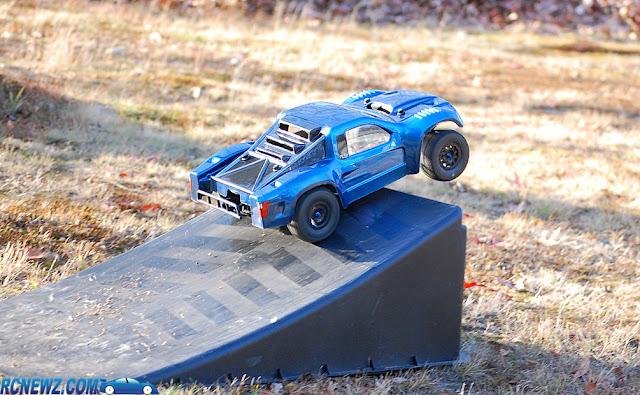 rc truck ramp jump