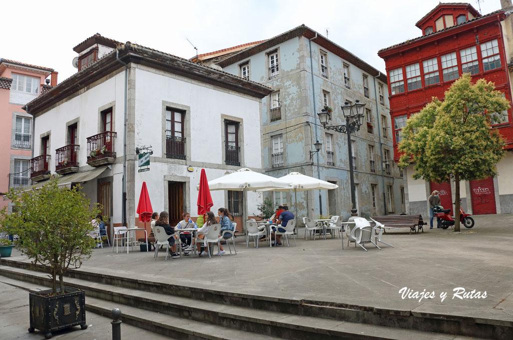 Plaza de la Victoria de Pravia