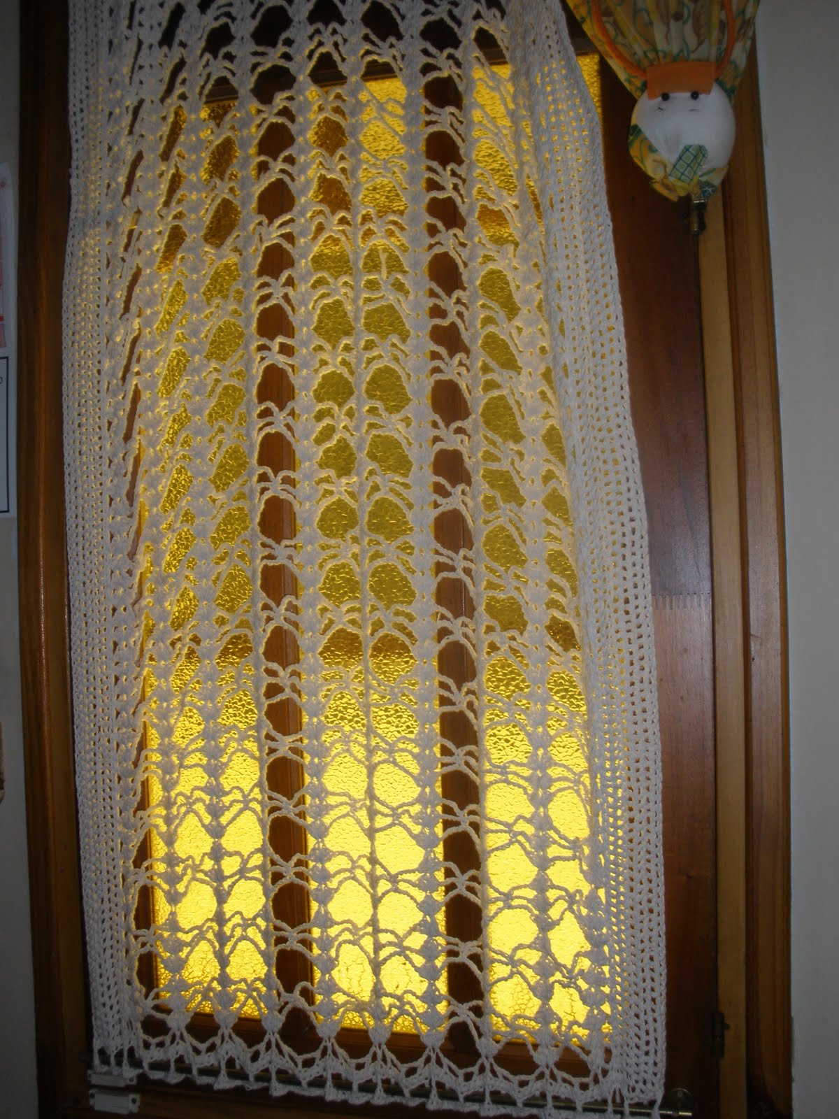soranyi crochet Cortinas a crochet algunas con patron