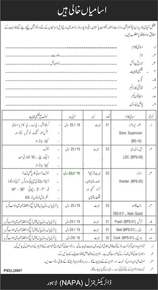 National Academy for Prisons jobs