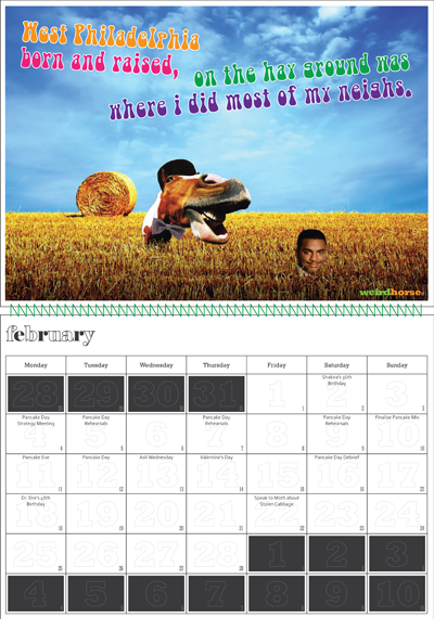 Bizarre Calendars 92