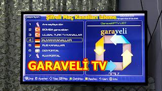 SMART TV İLE SPOR KANALLARI VE FİLM İZLE / GARAVELİ TV RESİMLİ ANLATİM 2019