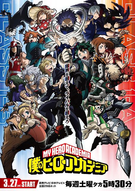 La quinta temporada de My Hero Academia