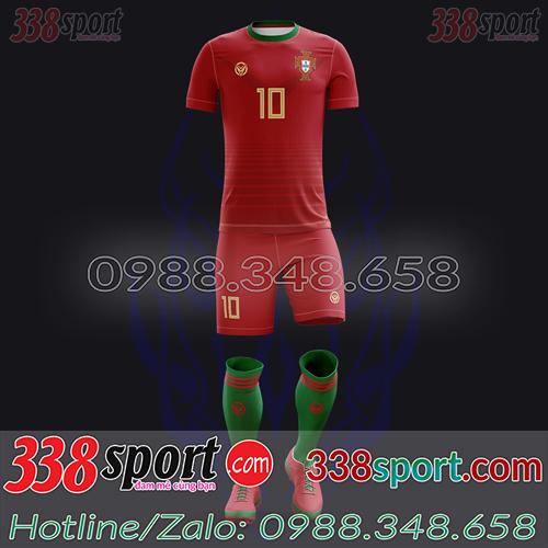 Áo Đội Tuyển Bồ Đào Nha Đặt May Theo Yêu Cầu - Mã BDN 02