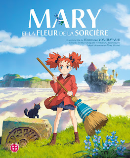 Mary et la fleur de la sorcière d'après le film de Hiromasa Yonebayashi