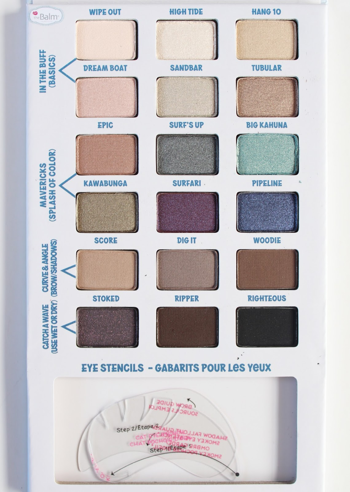 THEBALM | Balmsai Eyeshadow + Brow Palette - Review + Swatches - CassandraMyee