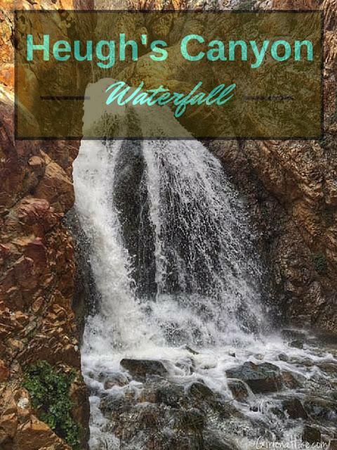 Heugh's Canyon Waterfall, Utah