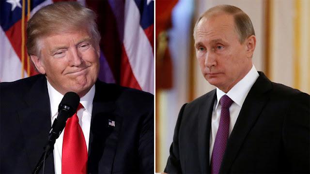 Putin y Trump se comprometen a mejorar las relaciones entre Rusia y EE.UU.