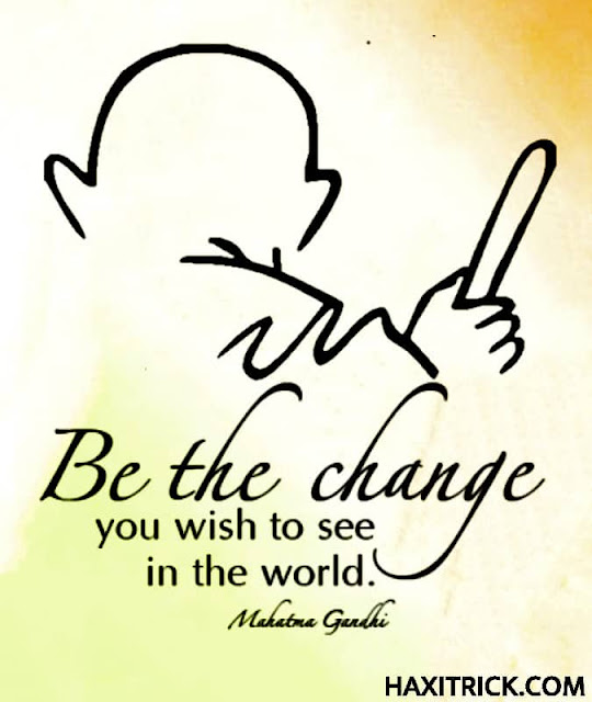 Quotation of Mahatma Gandhi in English