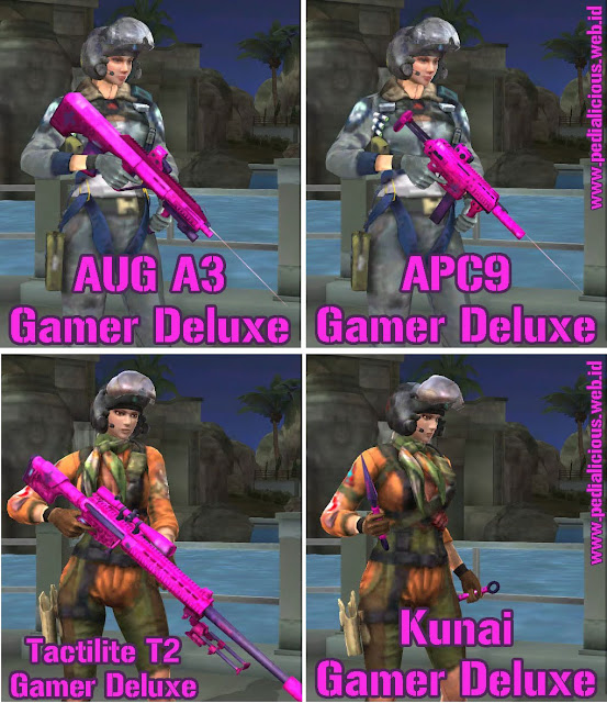 Preview Senjata Rules Seri Gamer Deluxe Point Blank Zepetto Indonesia