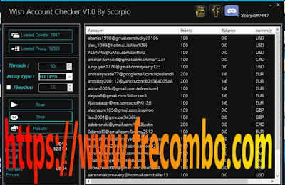 wish checker v1.0 With Capture HQ TOOL by Scorpio