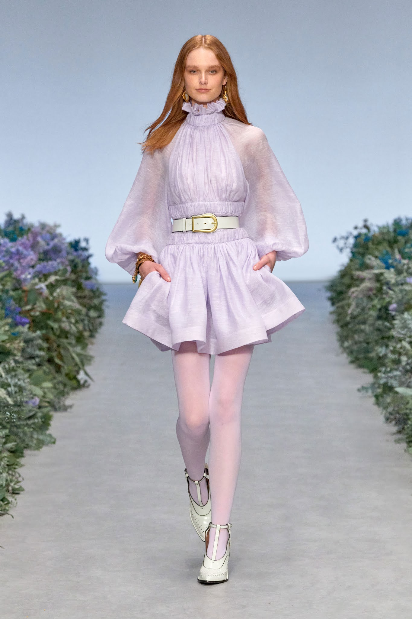 Lovely, lovely on the runway: Zimmermann