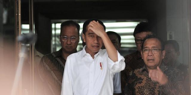 Gagah soal Kabinet, Ditanya Perppu KPK Jokowi Langsung 'Lemas'