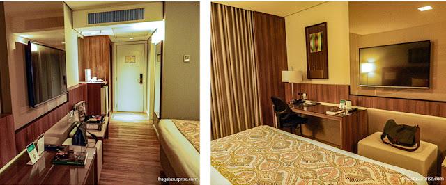 Apartamento do Hotel Deville Prime, Campo Grande, Mato Grosso do Sul