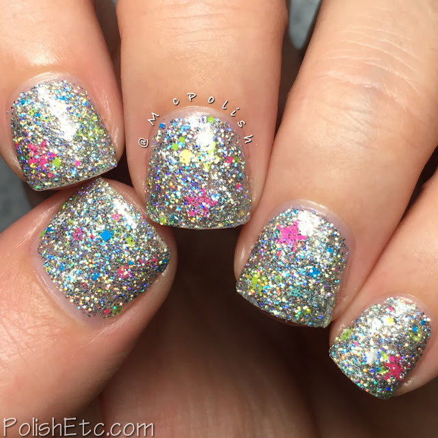 Awesome Sauce indie Box - Lisa Frank - McPolish - Stargazer by Different Dimension