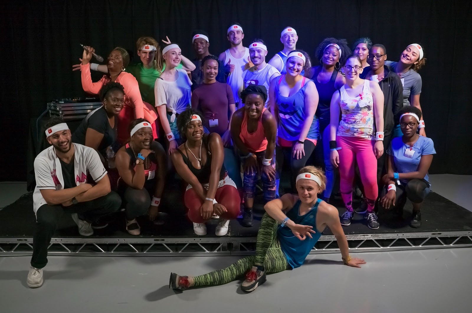 TASHIKA BAILEY | SCOLA DONDO'S LIT 80's FITNESS DANCE CLASS