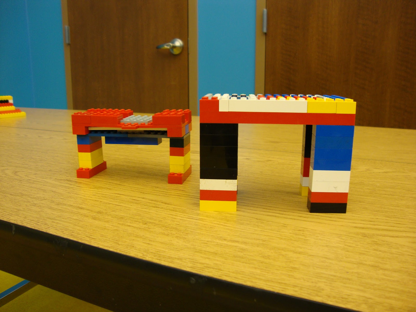 Engineering a LEGO bridge - 10 Fun LEGO Science Activities