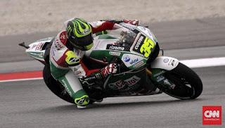 MotoGP Spanyol: Crutchlow Raih Pole, Rossi Start Urutan 10