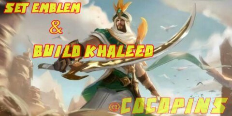 Most of the GG Khaleed Hero Emblem and Build Set