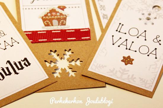 Kuva: Tuunaa itse pakettikortit joululahjoihin