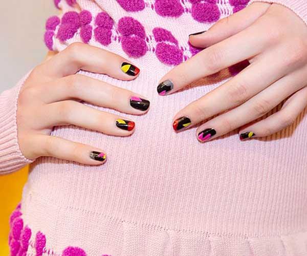 Cute Abstract Nail Designs