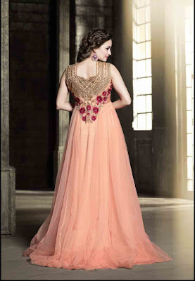 Crystal-Latest Fashion Designer Traditional Looking heavy salwar Suit