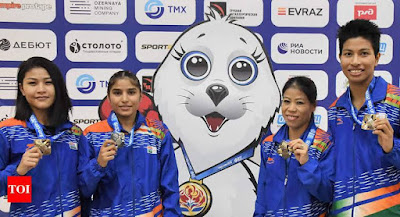 2019 AIBA Women's World Boxing Championships madal tally india