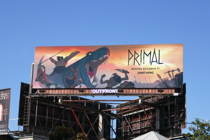 Primal series launch billboard