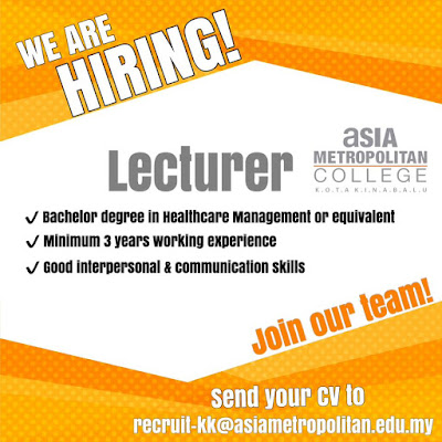 Lecturer @ Asia Metropolitan College Kota Kinabalu