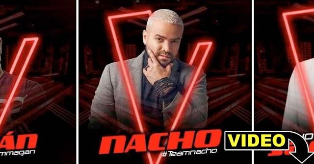 Nacho será jurado de La Voz en República Dominicana