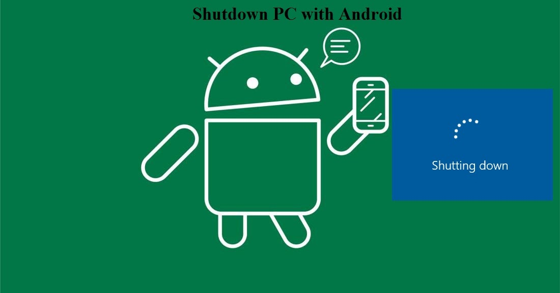 how to turn an android phone from a computer