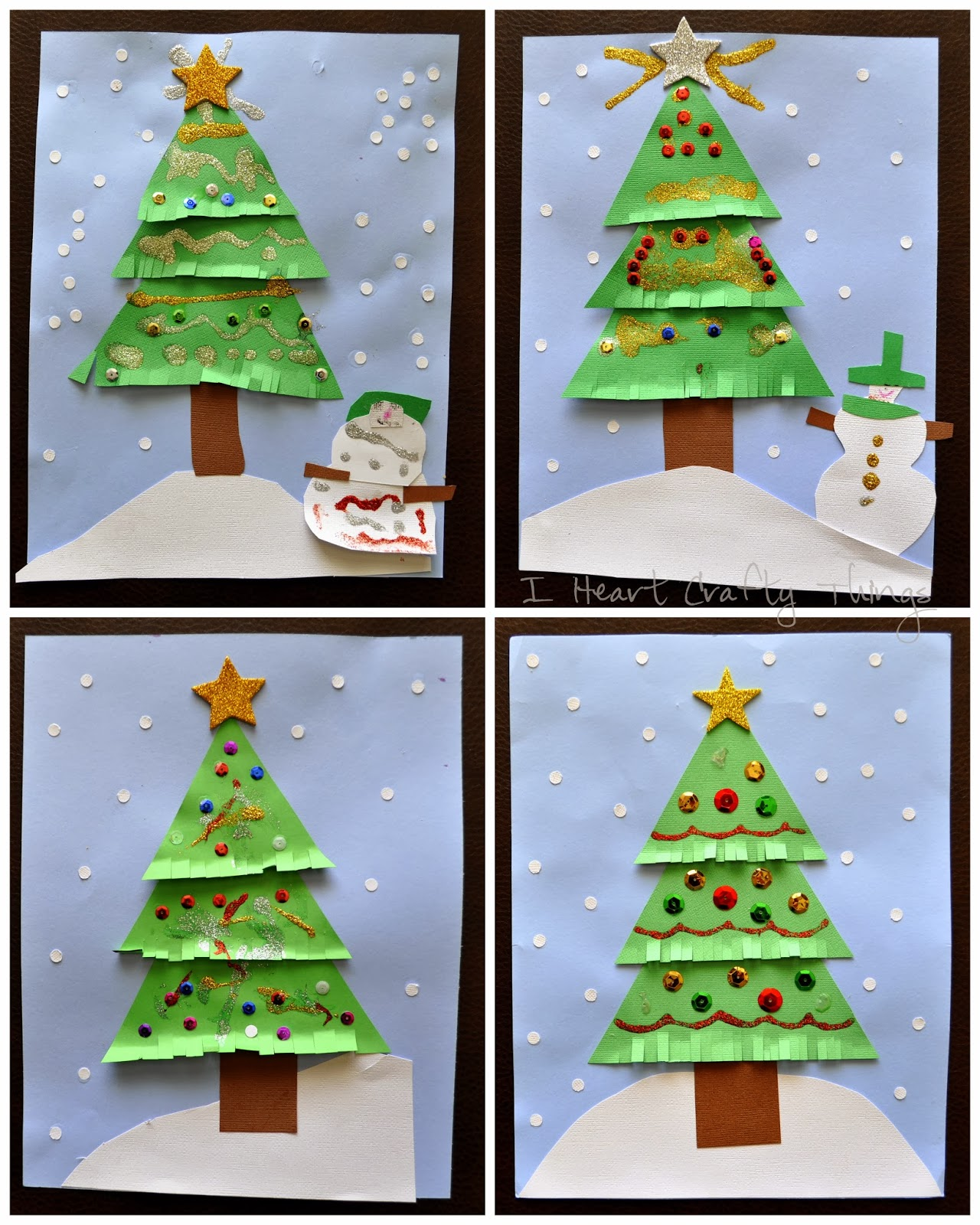 Christmas Crafts To Make: I Heart Crafty Things