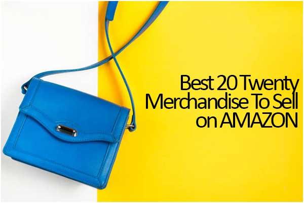 Best 20 Twenty Merchandise To Sell On Amazon