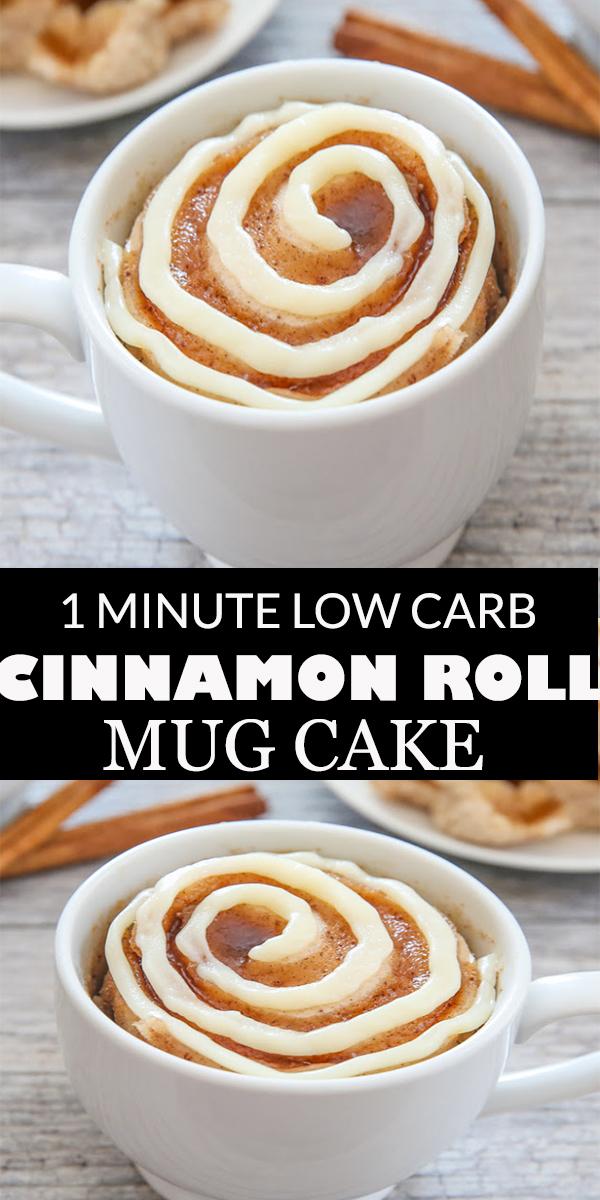 HEALTHY LOW CARB CINNAMON ROLL MUG CAKE #HEALTHY #LOWCARB #CINNAMON #ROLL #MUG #CAKE#HEALTHYLOWCARBCINNAMONROLLMUGCAKE