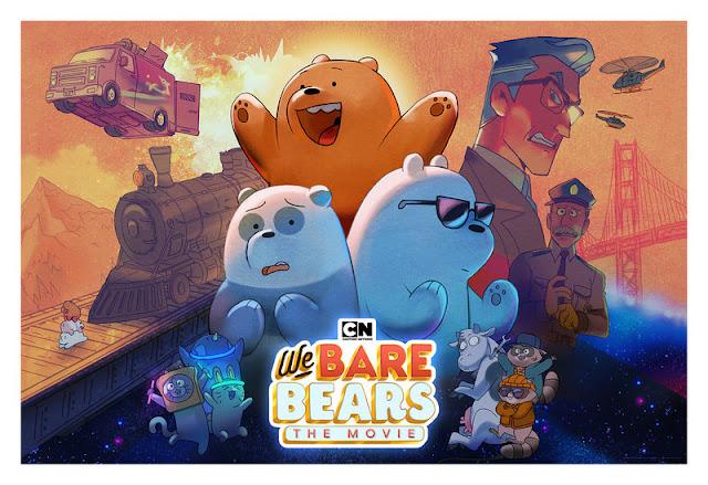 SAKSIKAN 'WE BARE BEARS: THE MOVIE'  12 SEPT. SERTAI PESTA INTERAKTIF