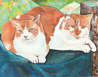 https://twodevoncats.blogspot.ca/2017/07/caturday-art-beautiful-gift.html