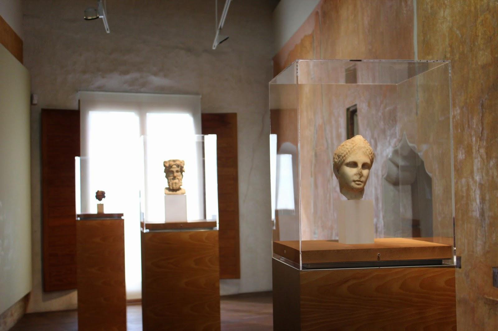 Cabeza de la Diosa Diana en el Museo Histórico de Sagunto-Valencia