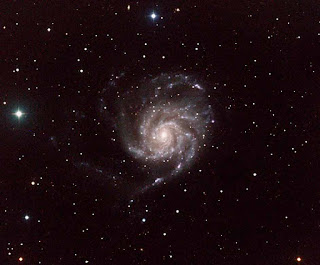 Image of M101 - Spiral Galaxy in Ursa Major Imaged on T11 by Michael Petrasko and Muir Evenden