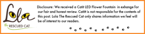 Catit|LED Flower Fountain