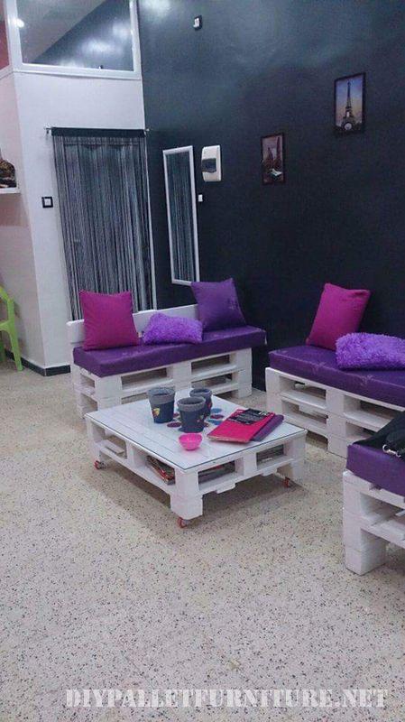 Mueblesdepaletsnet Peluqueria Equipada Con Muebles De Palets - Muebles-hechos-con-estibas