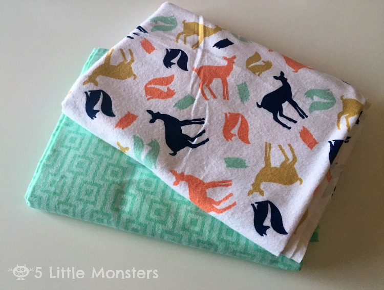 5 Little Monsters My Favorite Quick And Easy Baby Blanket