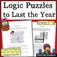year round logic puzzles on sale half price