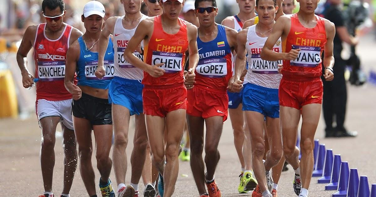 Atletik Jalan Cepat Lari Jarak Pendek Lompat Jauh Dan Tolak Peluru