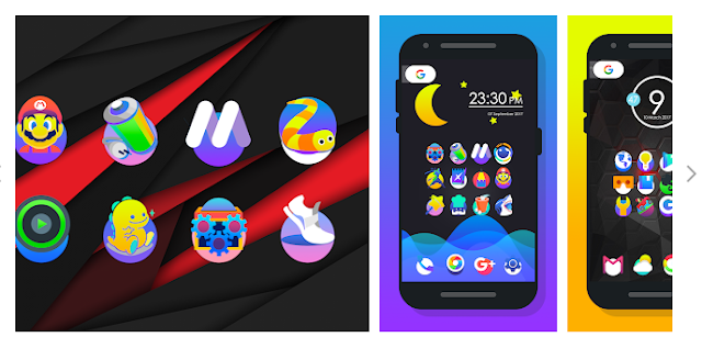 Hot! These 5 Paid Android icon packs can be downloaded for free any time.