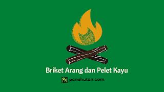 Briket Arang dan Pelet Kayu