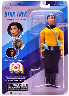 Return of MEGO Corporation Preview Star Trek Sulu Figure