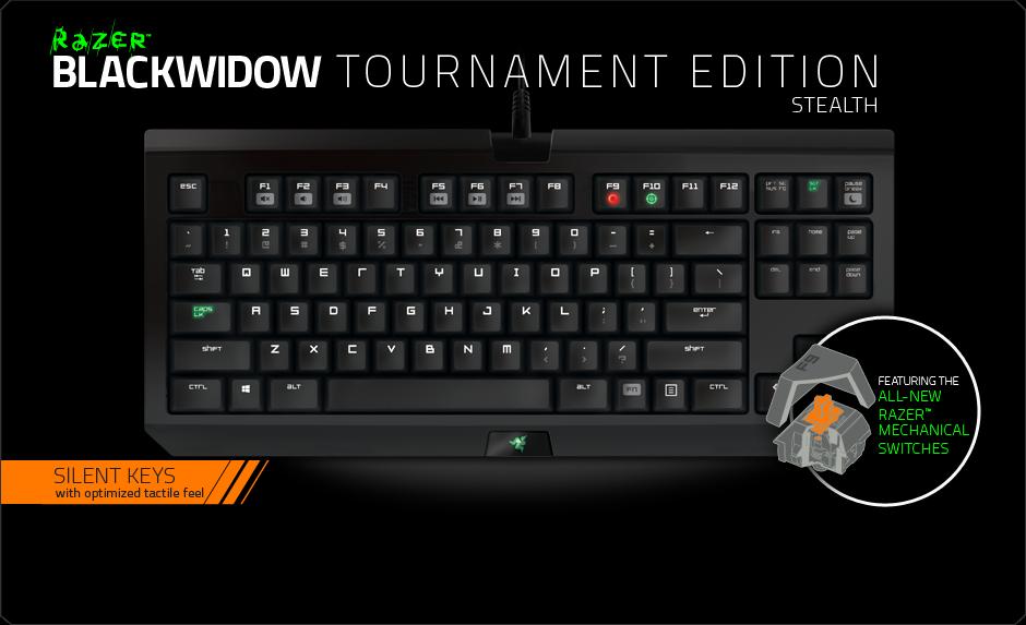 Razer blackwidow 2014 tournament edition.