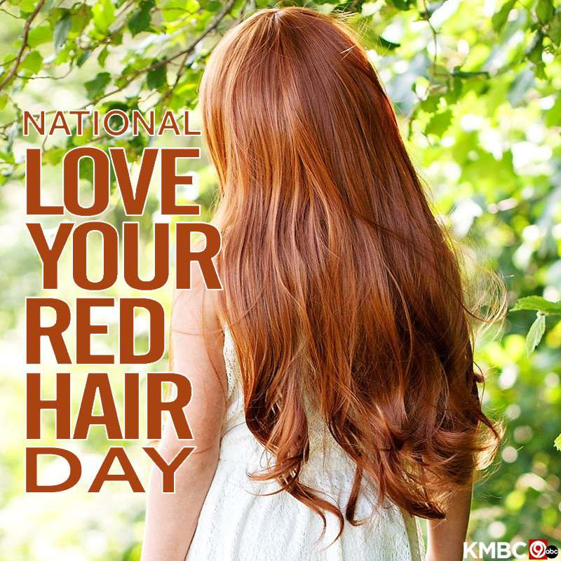 National Love Your Red Hair Day Wishes for Instagram