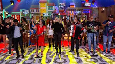Convidados do Boteco do Ratinho cantam seus hits e animam a plateia - Divulgação/SBT