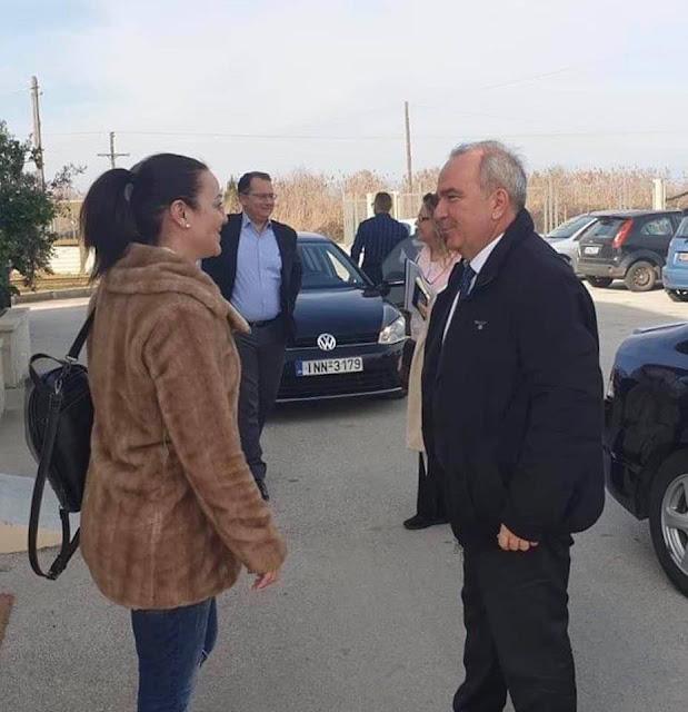Δήμος Ν.Σκουφά:Τον Υφυπουργό Ανάπτυξης& Επενδύσεων   συνάντησε η Ροζίνα Βαβέτση
